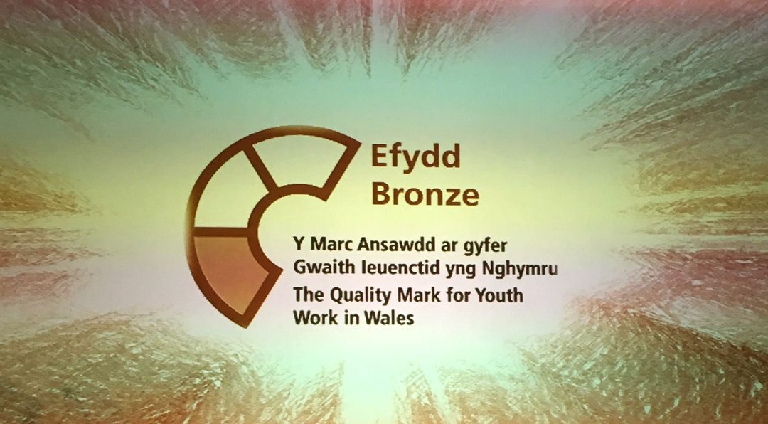 bronze award for youth work in wales